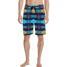 Plateau Night Men's All Over Print Casual Shorts (Model L23) Men's Casual Shorts (L23) e-joyer