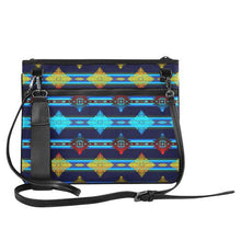 Plateau Night Slim Clutch Bag (Model 1668) Slim Clutch Bags (1668) e-joyer