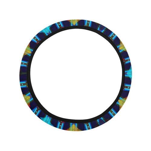 Plateau Night Steering Wheel Cover with Elastic Edge Steering Wheel Cover with Elastic Edge e-joyer