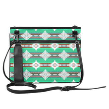 Plateau Stars Slim Clutch Bag (Model 1668) Slim Clutch Bags (1668) e-joyer