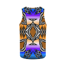 Prairie Fire Afternoon All Over Print Tank Top for Women (Model T43) All Over Print Tank Top for Women e-joyer
