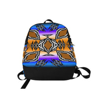 Prairie Fire Afternoon Fabric Adult Backpack (Model 1659) Casual Backpack for Adult (1659) e-joyer