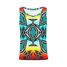 Prairie Fire All Over Print Tank Top for Women (Model T43) All Over Print Tank Top for Women e-joyer