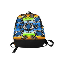 Prairie Fire Autumn Fabric Adult Backpack (Model 1659) Casual Backpack for Adult (1659) e-joyer