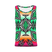 Prairie Fire Deep Lake All Over Print Tank Top for Women (Model T43) All Over Print Tank Top for Women e-joyer