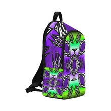 Prairie Fire Dusk Fabric Adult Backpack (Model 1659) Casual Backpack for Adult (1659) e-joyer