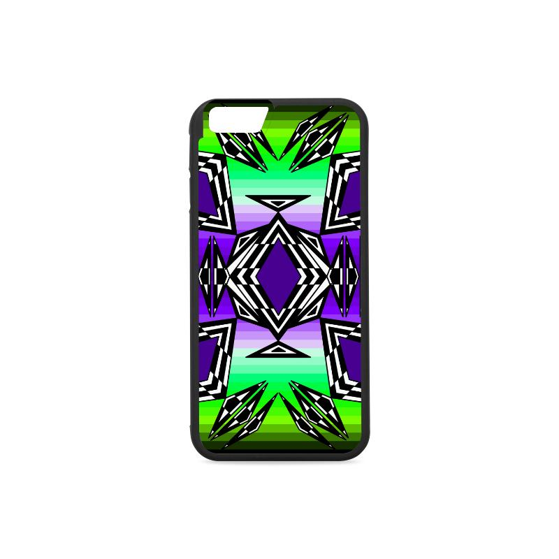 Prairie Fire Dusk iPhone 6/6s Case iPhone 6/6s Rubber Case e-joyer