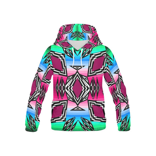 Prairie Fire Fall All Over Print Hoodie for Kid (USA Size) (Model H13) All Over Print Hoodie for Kid e-joyer