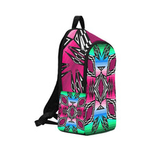 Prairie Fire Fall Fabric Adult Backpack (Model 1659) Casual Backpack for Adult (1659) e-joyer