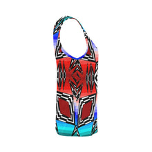 Prairie Fire July All Over Print Tank Top for Women (Model T43) All Over Print Tank Top for Women e-joyer