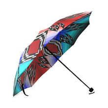 Prairie Fire July Foldable Umbrella Foldable Umbrella e-joyer