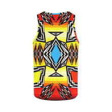 Prairie Fire Medicine Wheel All Over Print Tank Top for Women (Model T43) All Over Print Tank Top for Women e-joyer