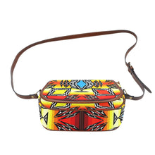 Prairie Fire Medicine Wheel Saddle Bag/Large (Model 1649) Saddle Bag/Large e-joyer