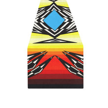Prairie Fire Medicine Wheel Table Runner 16x72 inch Table Runner 16x72 inch e-joyer