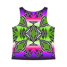Prairie Fire Night Sky All Over Print Tank Top for Women (Model T43) All Over Print Tank Top for Women e-joyer