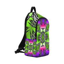 Prairie Fire Night Sky Fabric Adult Backpack (Model 1659) Casual Backpack for Adult (1659) e-joyer