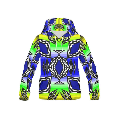 Prairie Fire Spring All Over Print Hoodie for Kid (USA Size) (Model H13) All Over Print Hoodie for Kid e-joyer