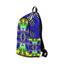 Prairie Fire Spring Fabric Adult Backpack (Model 1659) Casual Backpack for Adult (1659) e-joyer