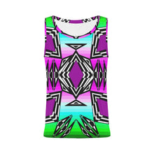 Prairie Fire Sunrise All Over Print Tank Top for Women (Model T43) All Over Print Tank Top for Women e-joyer