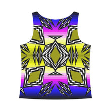 Prairie Fire Sunset All Over Print Tank Top for Women (Model T43) All Over Print Tank Top for Women e-joyer