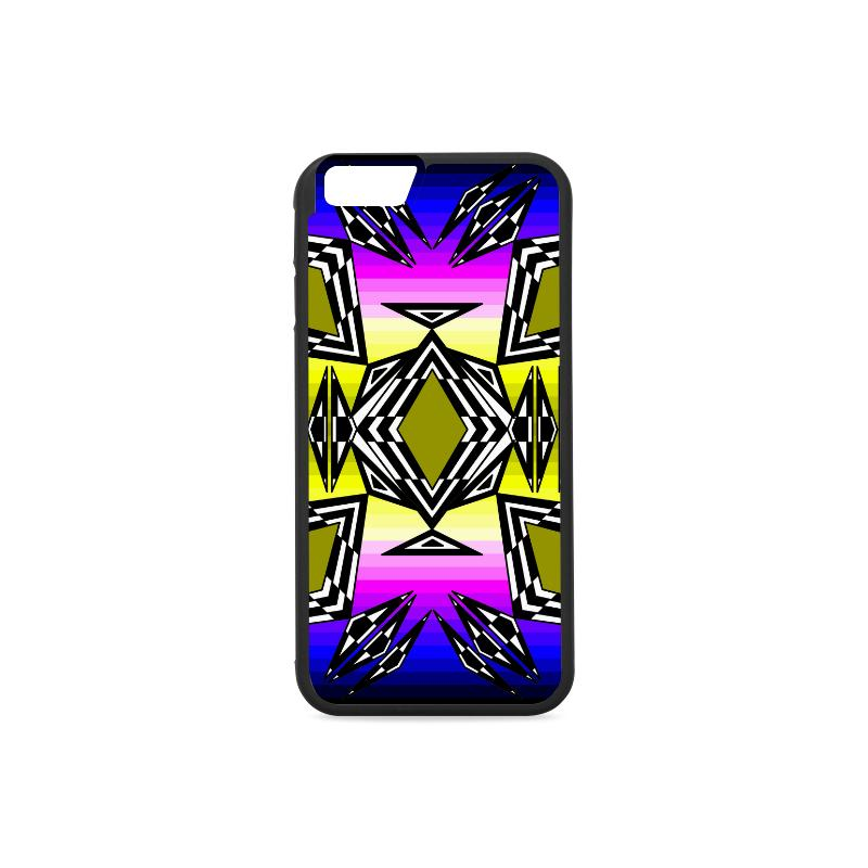 Prairie Fire Sunset iPhone 6/6s Case iPhone 6/6s Rubber Case e-joyer