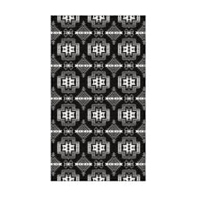 Pretty Blanket Black and White Flat Weave Rug 49 Dzine 22.5x37 inch With