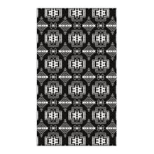 Pretty Blanket Black and White Flat Weave Rug 49 Dzine 36x60 inch With