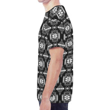 Pretty Blanket Black and White New All Over Print T-shirt for Men/Large Size (Model T45) New All Over Print T-shirt for Men/Large (T45) e-joyer