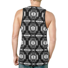 Pretty Blanket Black and White New All Over Print Tank Top for Men (Model T46) New All Over Print Tank Top for Men (T46) e-joyer