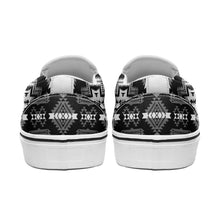 Pretty Blanket Black and White Otoyimm Canvas Slip On Shoes 49 Dzine
