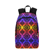 Pretty Blanket Black Sunset Fabric Backpack for Adult (Model 1659) Casual Backpack for Adult (1659) e-joyer