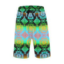 Pretty Blanket Canyon Men's All Over Print Casual Shorts (Model L23) Men's Casual Shorts (L23) e-joyer