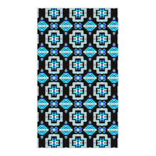 Pretty Blanket Cool Sky Flat Weave Rug 49 Dzine 36x60 inch With