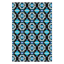 Pretty Blanket Cool Sky Flat Weave Rug 49 Dzine 48x72 inch With