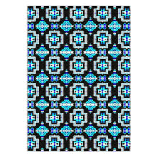 Pretty Blanket Cool Sky Flat Weave Rug 49 Dzine 60x84 inch With