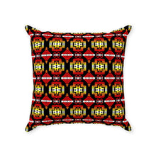 Pretty Blanket Fire Throw Pillows 49 Dzine With Zipper Poly Twill 14x14 inch