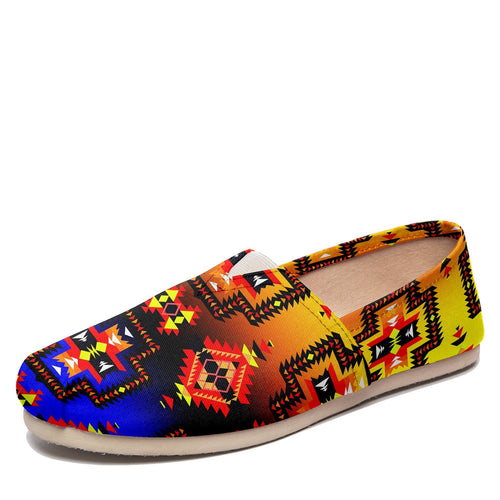 Pretty Blanket Horizon Casual Unisex Slip On Shoe Herman