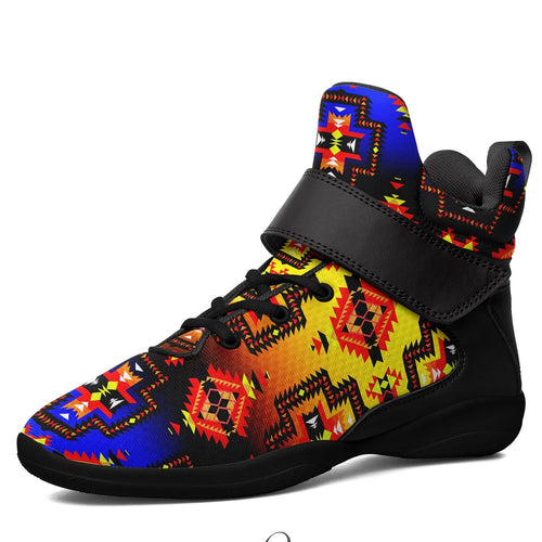 Pretty Blanket Horizon Ipottaa Basketball / Sport High Top Shoes - Black Sole 49 Dzine US Men 7 / EUR 40 Black Sole with Black Strap