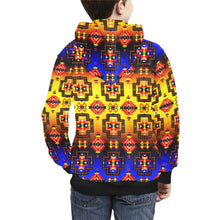 Pretty Blanket Horizon Kids' All Over Print Hoodie (Model H38) Kids' AOP Hoodie (H38) e-joyer