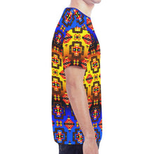 Pretty Blanket Horizon New All Over Print T-shirt for Men/Large Size (Model T45) New All Over Print T-shirt for Men/Large (T45) e-joyer