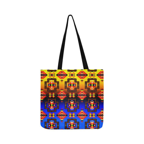 Pretty Blanket Horizon Reusable Shopping Bag Model 1660 (Two sides) Shopping Tote Bag (1660) e-joyer