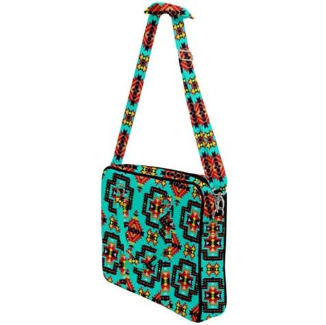 Pretty Blanket Jungle Cross Body Office Bag 49 Dzine