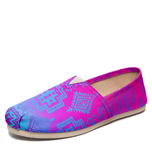 Pretty Blanket Meschica Maze Casual Unisex Slip On Shoe Herman