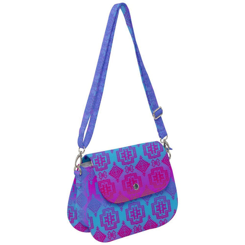 Pretty Blanket Meschica Maze Saddle Handbag cross-body-handbags 49 Dzine