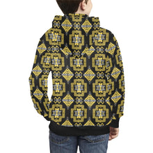 Pretty Blanket Ocre Kids' All Over Print Hoodie (Model H38) Kids' AOP Hoodie (H38) e-joyer