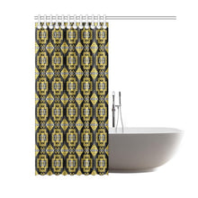 "Pretty Blanket Ocre Shower Curtain 60""x72"" Shower Curtain 60""x72"" e-joyer"