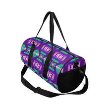 Pretty Blanket Purple Duffle Bag (Model 1679) Duffle Bag (1679) e-joyer