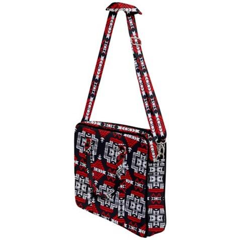 Pretty Blanket Red Stripe Cross Body Office Bag 49 Dzine