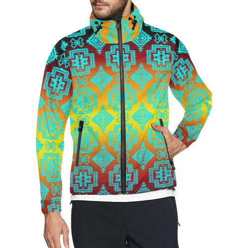 Pretty Blanket Sky All Over Print Windbreaker for Unisex (Model H23) All Over Print Windbreaker for Men (H23) e-joyer
