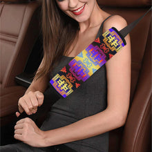 Pretty Blanket Sunset Car Seat Belt Cover 7''x12.6'' Car Seat Belt Cover 7''x12.6'' e-joyer